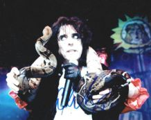 Alice Cooper Autograph Photo Signed